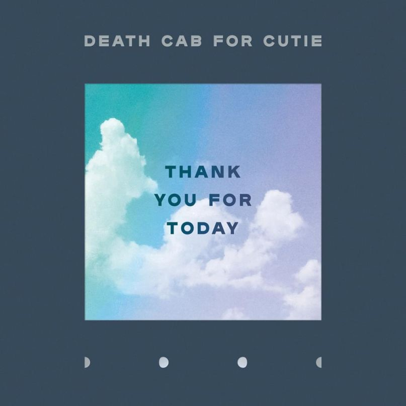 death cab for cutie thank you for today album cover artwork