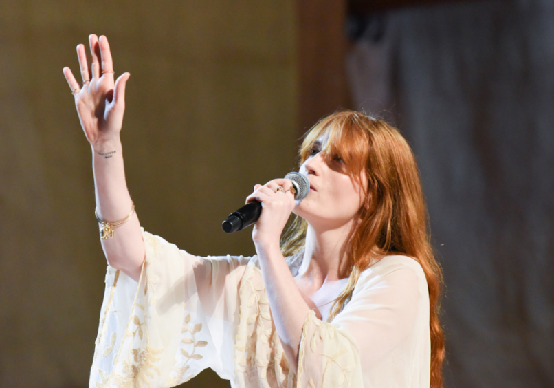 Florence and The Machine on the Late Show