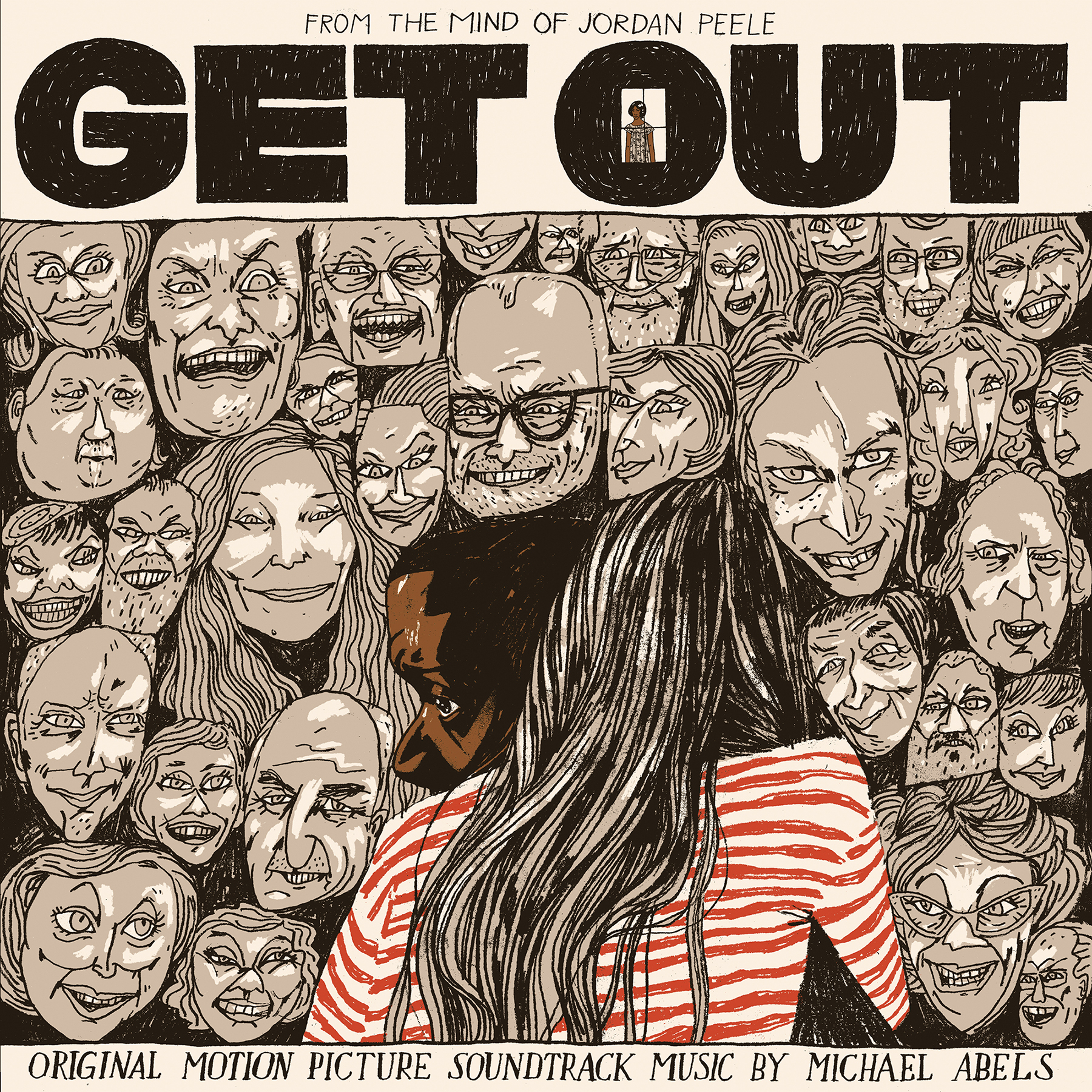 Get Out Waxwork Records Deluxe Vinyl Cover