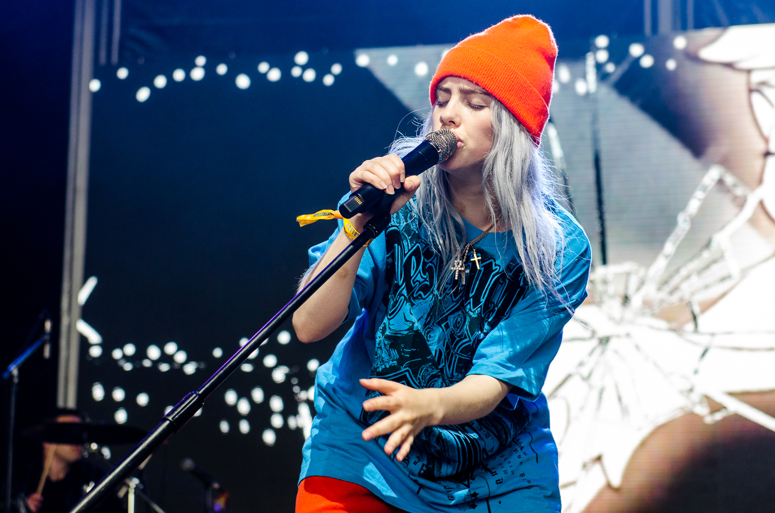 govs ball nyc 2018 ben kaye billie eilish 4 Rookie of the Year: Billie Eilish Grew Up and Blew Up In 2018