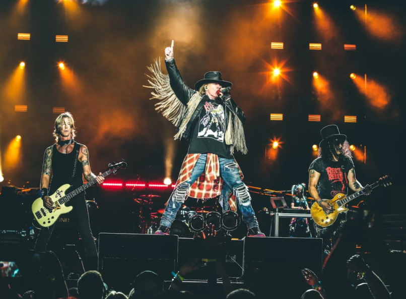 Guns N' Roses Velvet Revolver Cover Photo by Philip Cosores