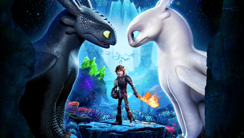 How To Train Your Dragon The Hidden World Toothless Hiccup Light Fury