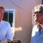 Josh Homme with Anthony Bourdain