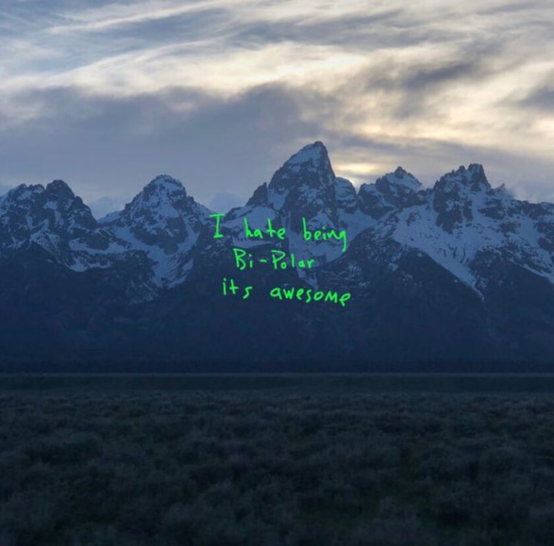 Kanye West ye artwork new album