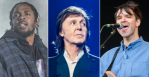 Kendrick Lamar (Amy Price), Paul McCartney, Dirty Projectors (Ben Kaye)
