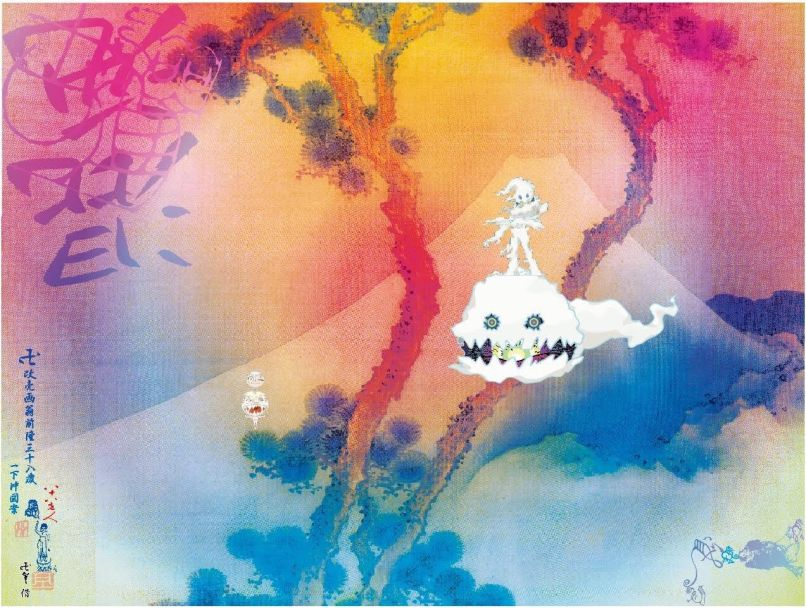 kids see ghosts album artwork cover kanye west kid cudi takashi murakami Ranking: Every Kanye West Album from Worst to Best