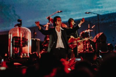 Nick Cave and the Bad Seeds, photo by Kimberley Ross
