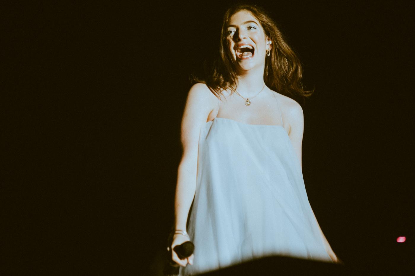 Lorde, photo by Kimberley Ross