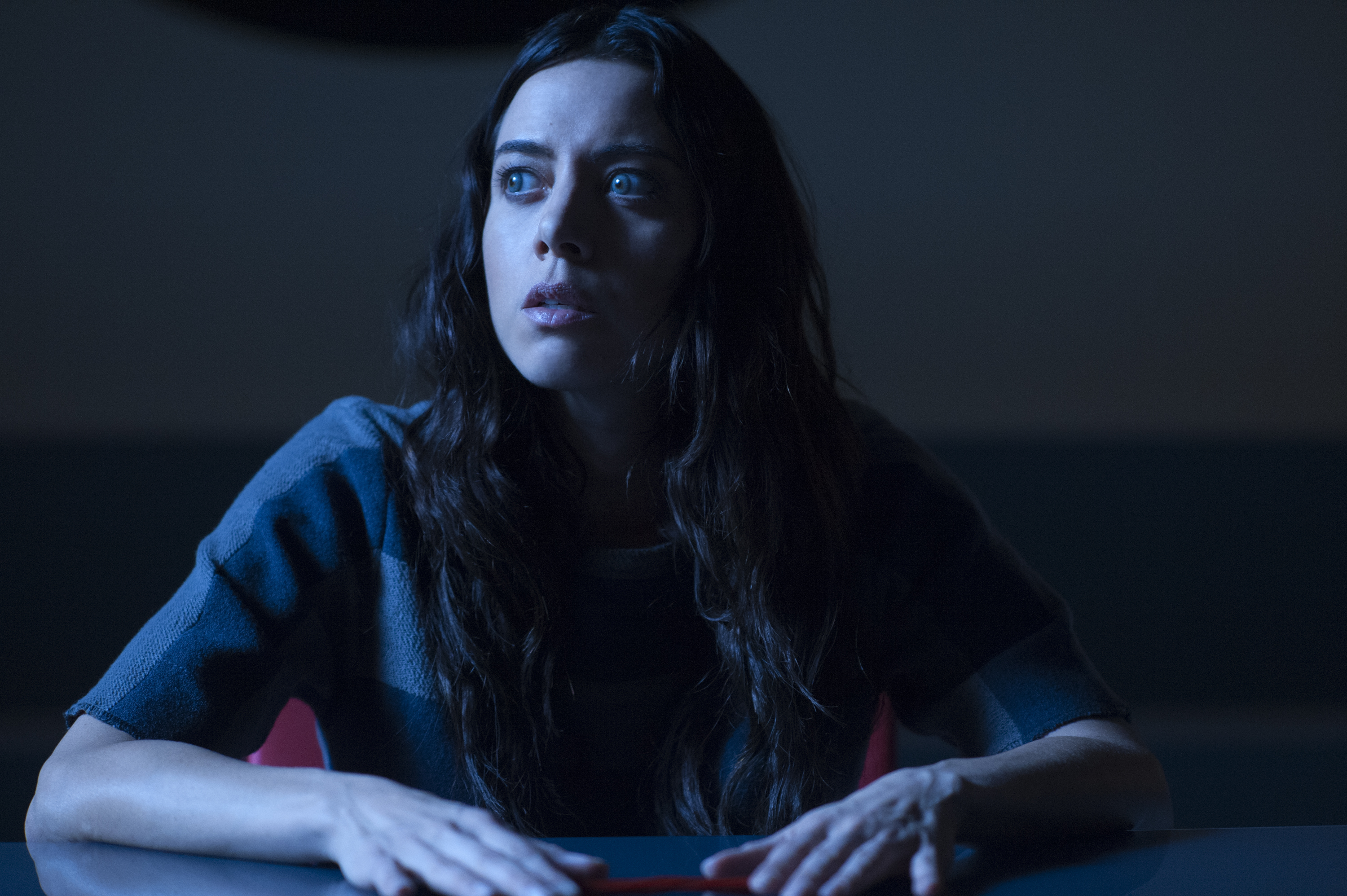 Aubrey Plaza Lenny Legion FX blue Chapter 13