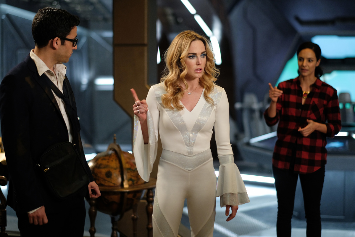 Legends of Tomorrow Caity Lotz Tala Ashe