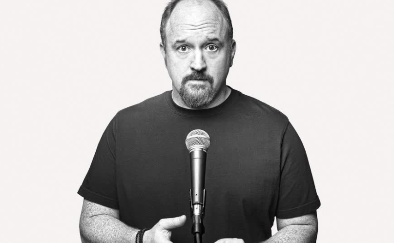 Louis CK black and white mic comeback