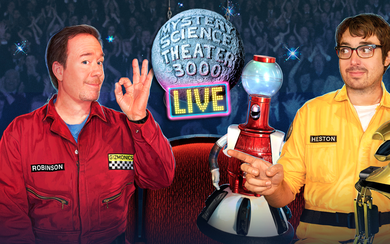 Mystery Science Theater 3000 30th Anniversary Tour Joel Hodgson