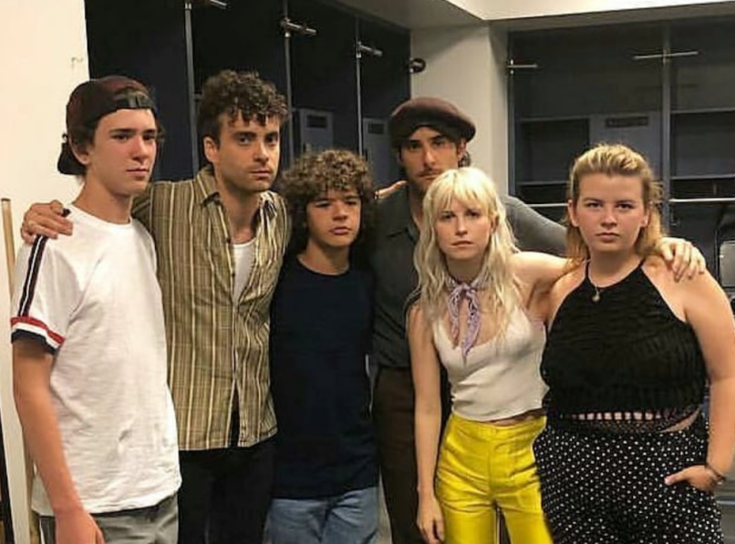 "Watch Paramore and Gaten Matarazzo perform ""Misery Business"" in Brooklyn"