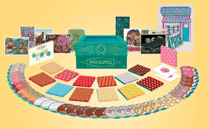 Phish Baker's Dozen Complete Box Set CDS artwork