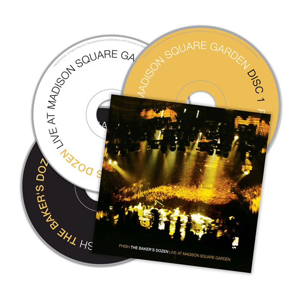 phish The Baker's Dozen Live at Madison Square GardenCDs