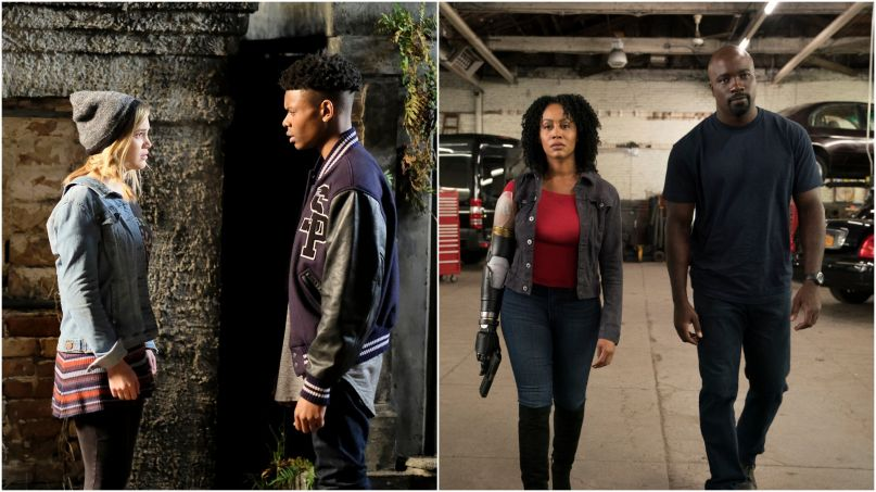 Cloak and Dagger Luke Cage Misty Knight