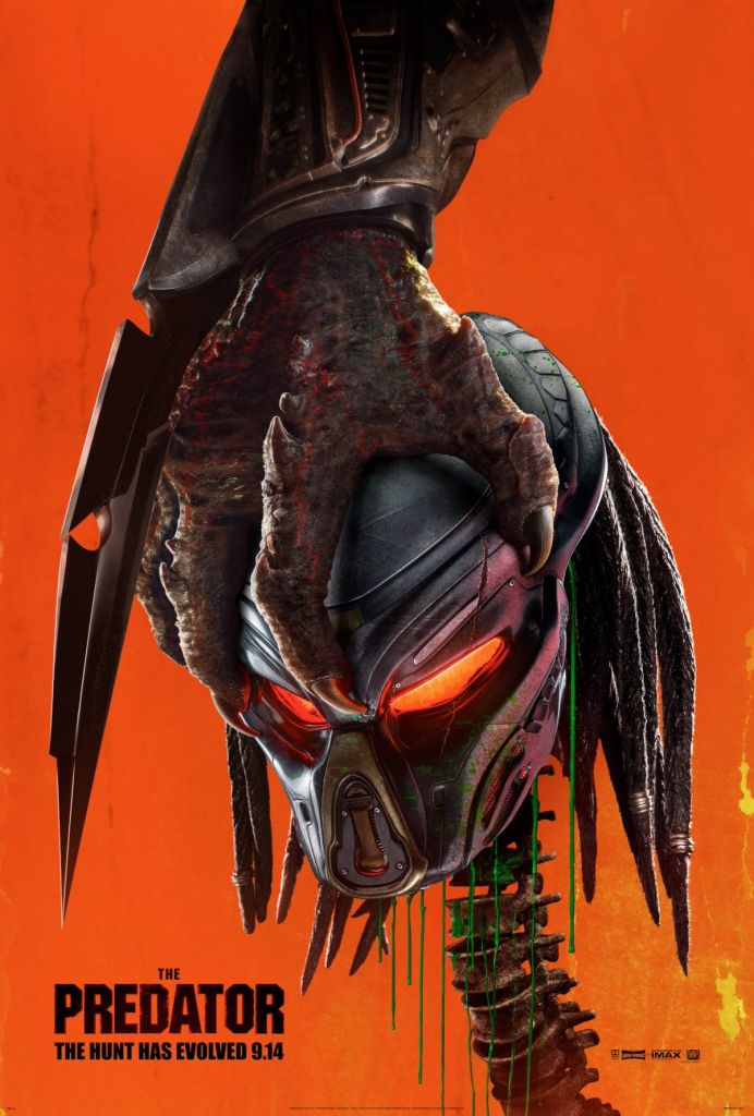 predator poster New trailer for Shane Blacks The Predator makes hats out of our rib cages: Watch