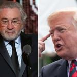 Robert De Niro President Donald Trump