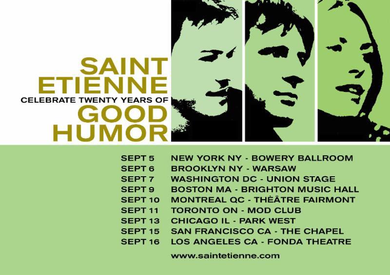 saint etienne good humor tour