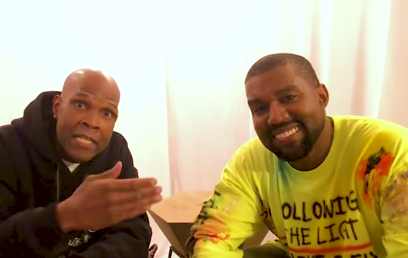 Big Boy and Kanye West