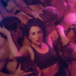 "St. Vincent's ""Fast Slow Disco"" video"