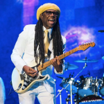 Nile Rodgers Chic Till the World Ends blue