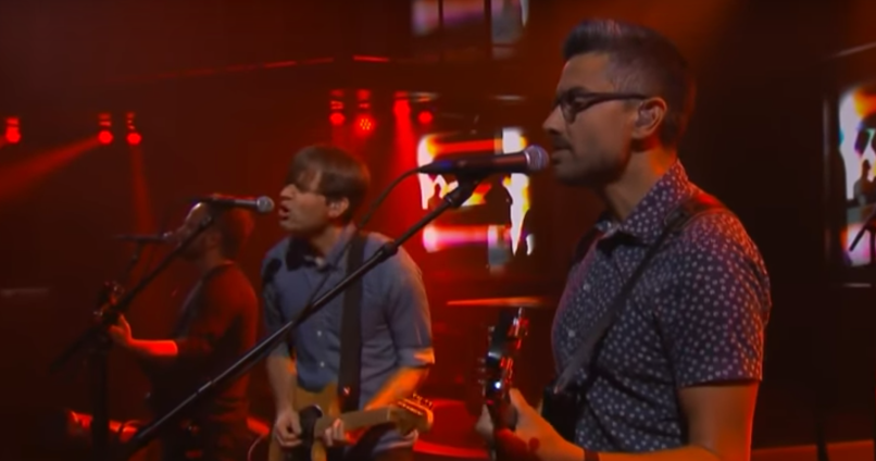 Death Cab For Cutie on Colbert