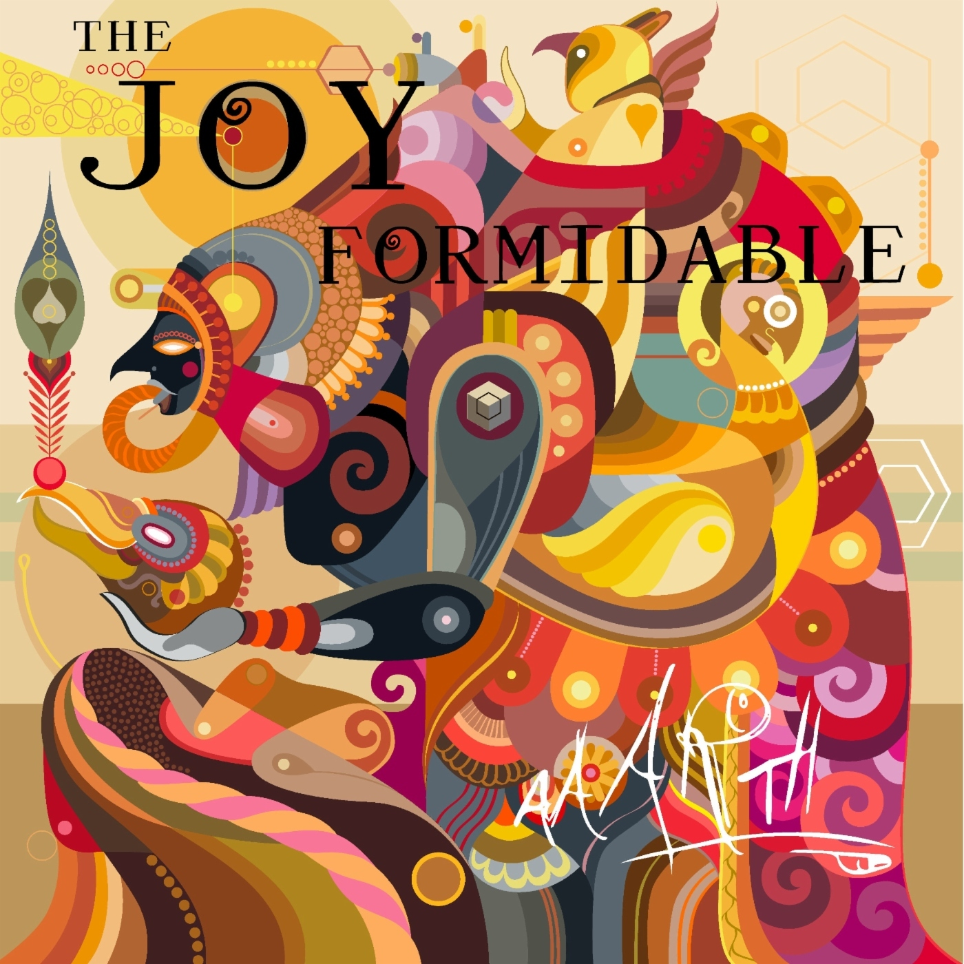 The Joy Formidable AAARTH Album Artwork Cover Art New Record