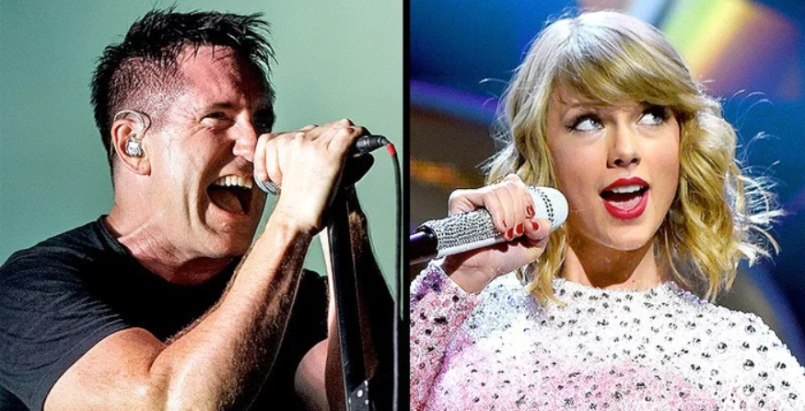Trent Reznor and Taylor Swift