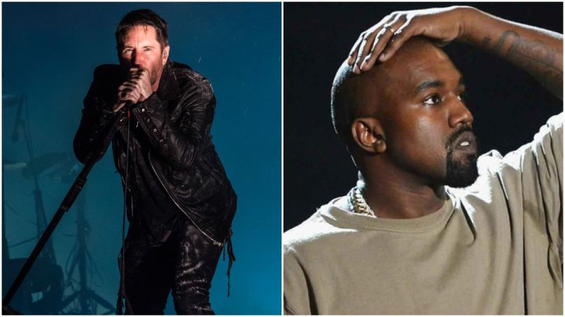 trent reznor kanye west nine inch nails ye