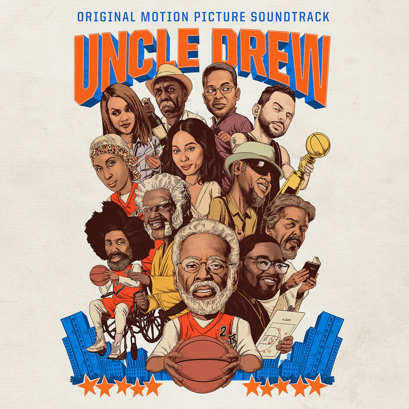 Uncle Drew Original Motion Picture Soundtrack Cover Art