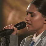 """Video Alessia Cara perform """"Growing Pains"""" on the Late Show with Stephen Colbert"""
