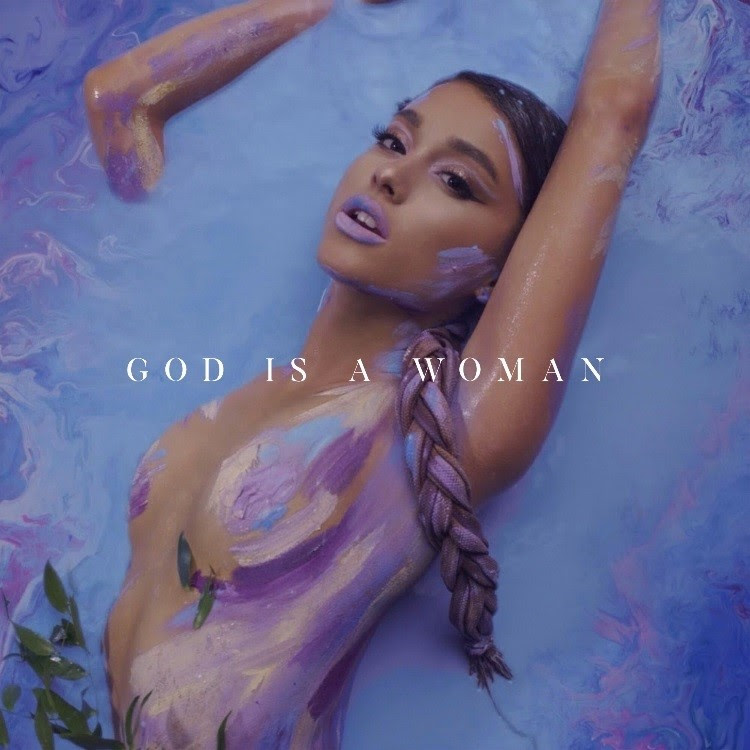 "Ariana Grande's ""God is a Woman"" artwork"