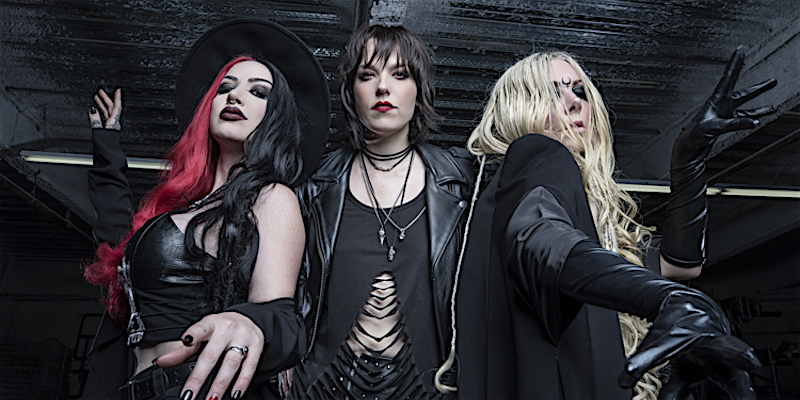 Ash Costello, Lzzy Hale and Maria Brink