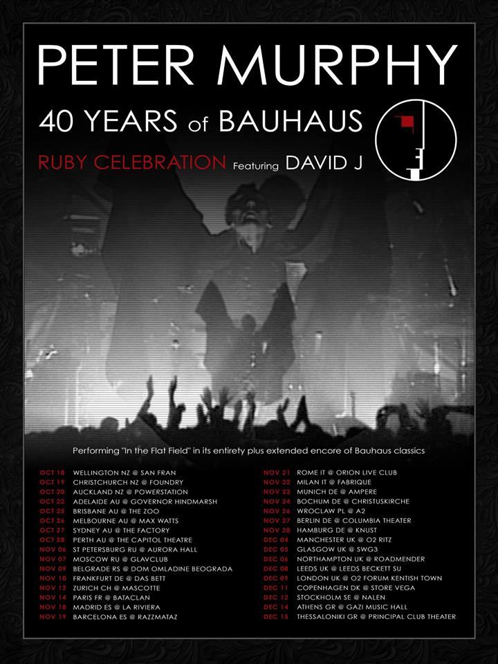 bauhaus ruby celebration tour