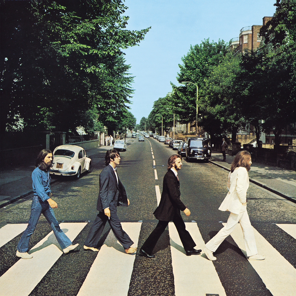 Beatles Abbey Road cover artwork