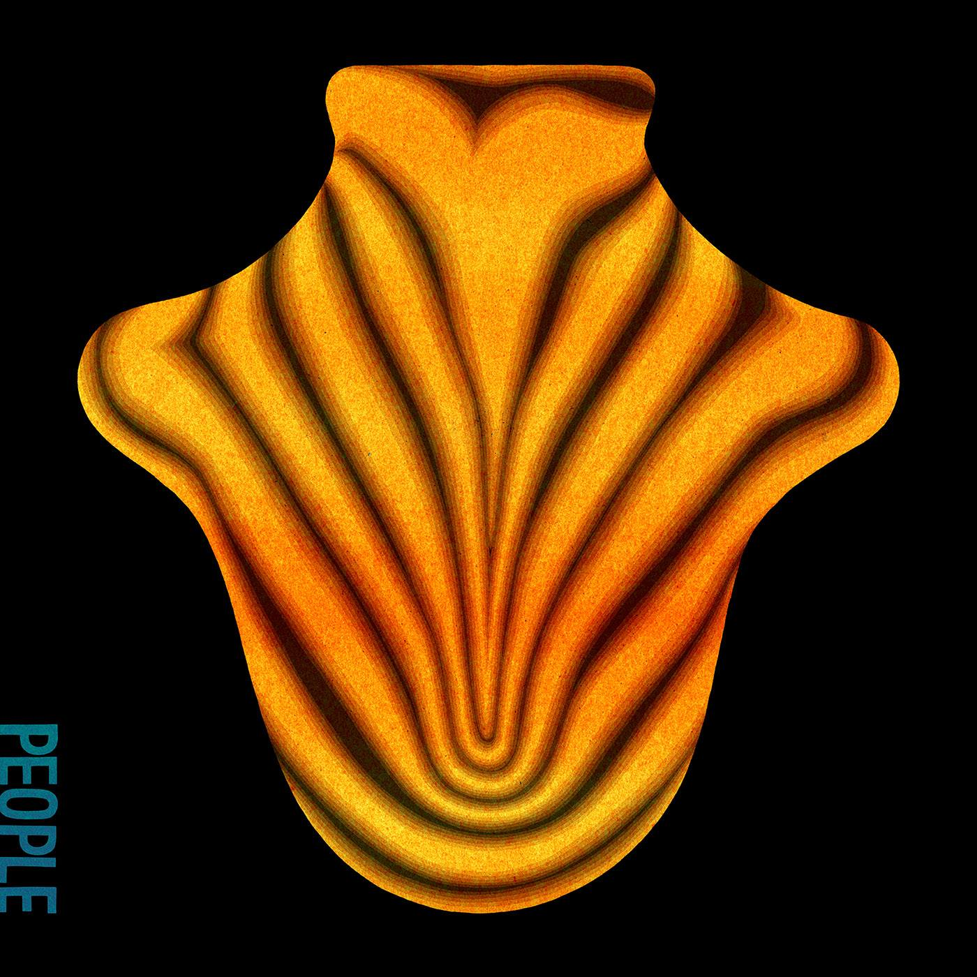 Big Red Machine Aaron Dessner Justin Vernon Album Art Cover