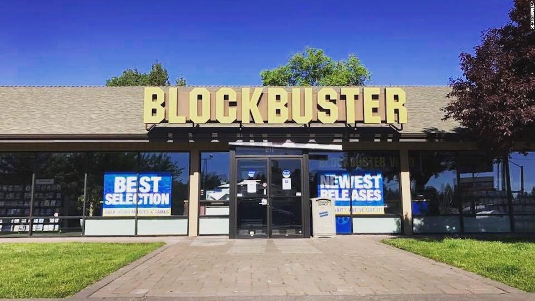 Blockbuster in Bend, Oregon