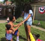Chance the Rapper proposes to Kirsten Corley