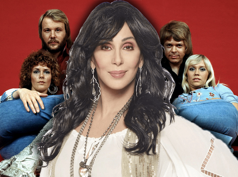 Cher ABBA Covers Album Mamma Mia! Here We Go Again
