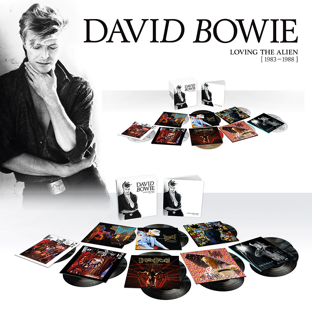 New 80's-era David Bowie box set, Loving the Alien, to feature