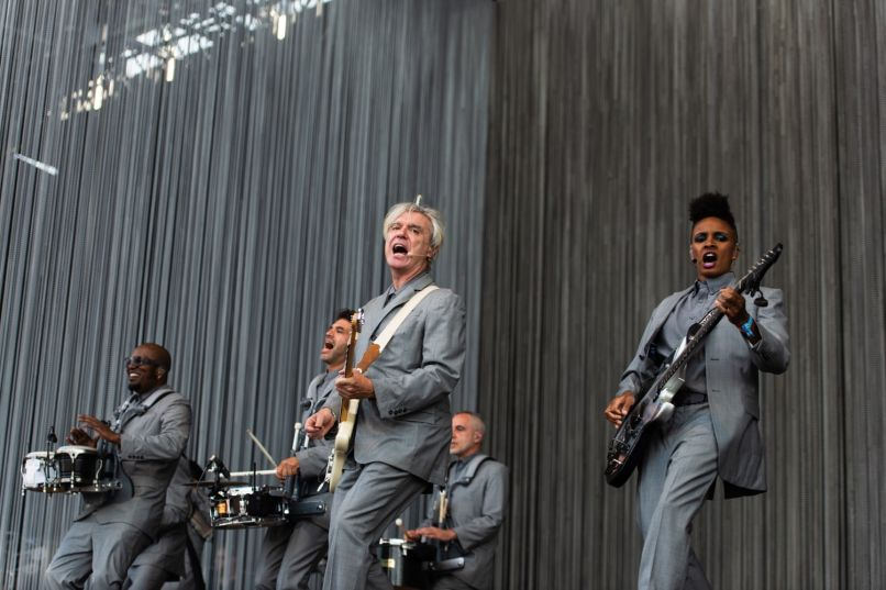 David Byrne, Panorama 2018, photo by Julia Drummond