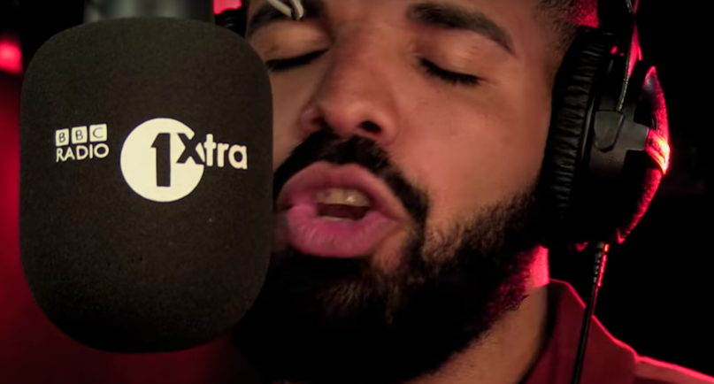 """Drake's """"Fire in the Booth"""" freestyle"""