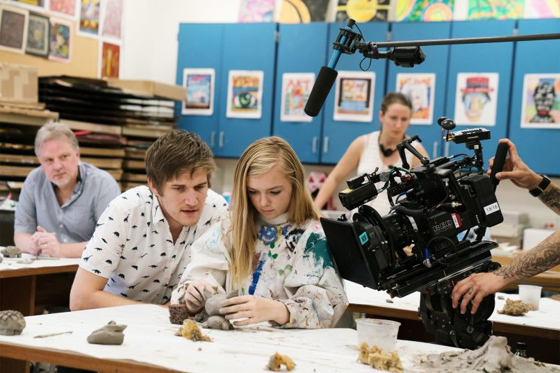 Bo Burnham and Elsie Fisher, Eighth Grade