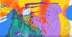 Father John Misty Date Night Video Animated Chad Vangaalen
