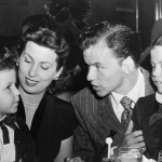 Frank Sinatra and Nancy Sinatra Sr. with their children