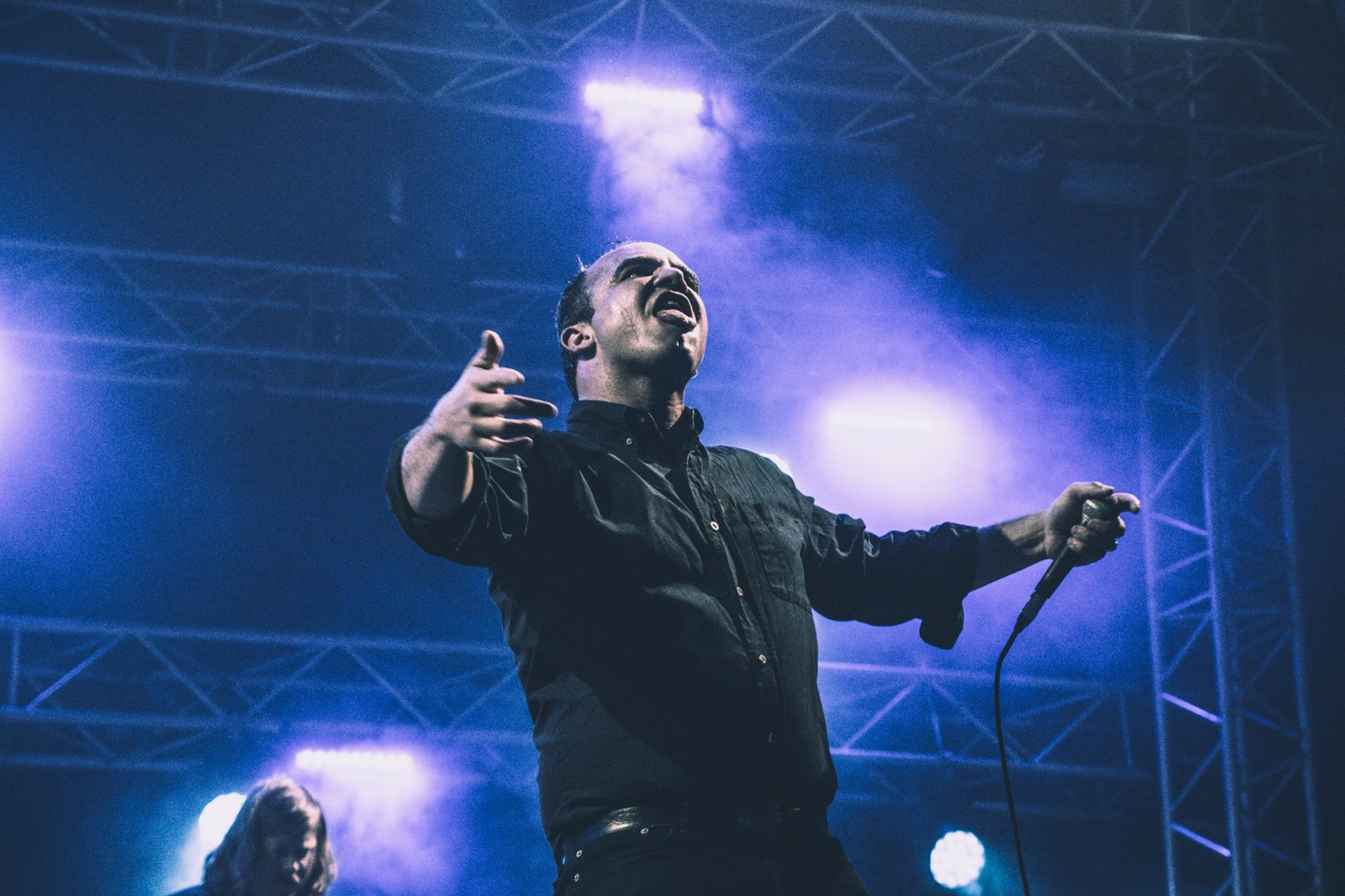 Future Islands, NOS Alive 2018, Portugal, Photo by Lior Phillips