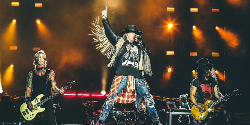 Guns N' Roses hollywood show