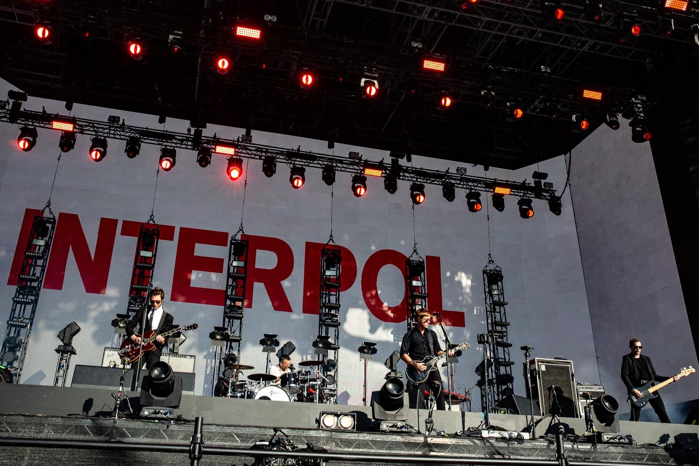 Interpol, photo by Debi Del Grande