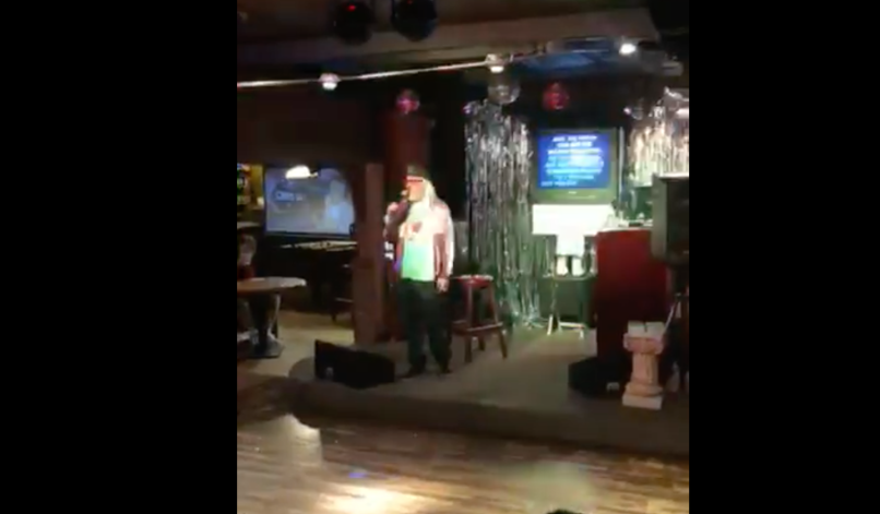 J Mascis sings Tom Petty at karaoke bar